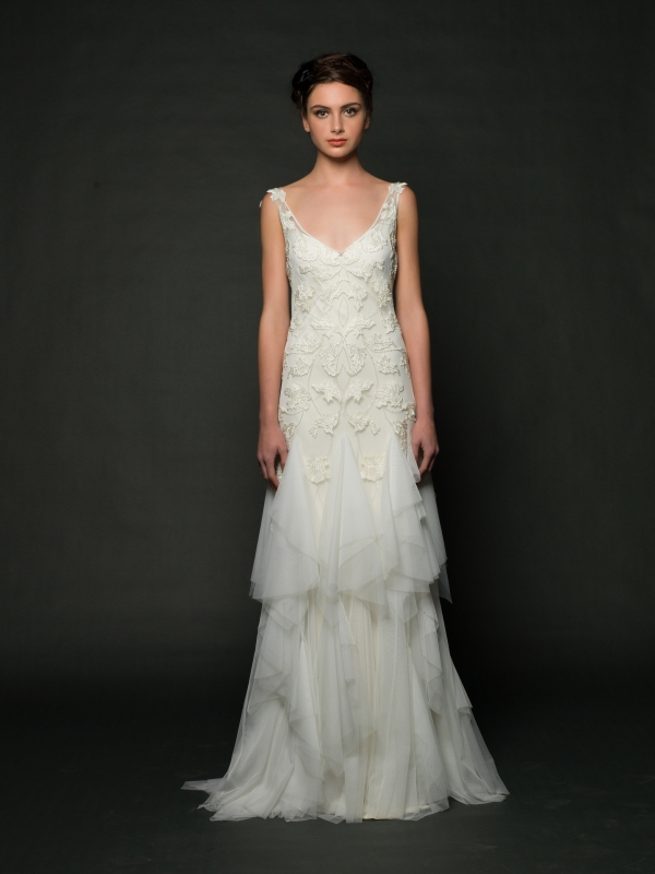 Sarah Janks - Fall 2014 Bridal Collection - Dahlia Wedding Dress</p>