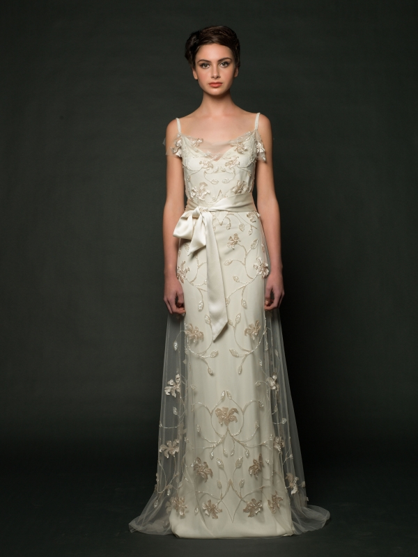 Sarah Janks - Fall 2014 Bridal Collection - Daisy Wedding Dress</p>