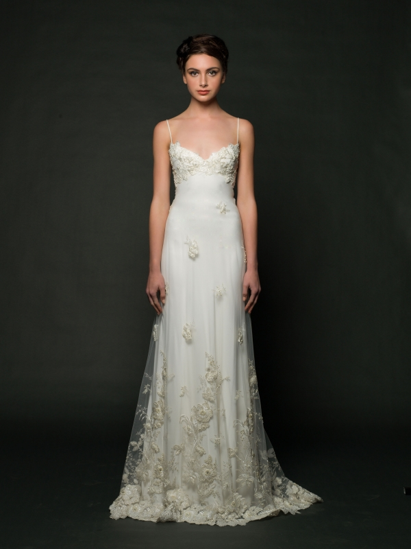 Sarah Janks - Fall 2014 Bridal Collection - Daphne Wedding Dress</p>