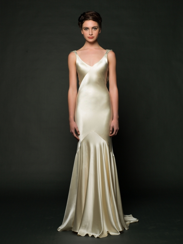 Sarah Janks - Fall 2014 Bridal Collection - Daxa Wedding Dress</p>