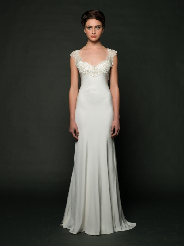 Sarah Janks - Fall 2014 Bridal Collection - Deandra Wedding Dress</p>