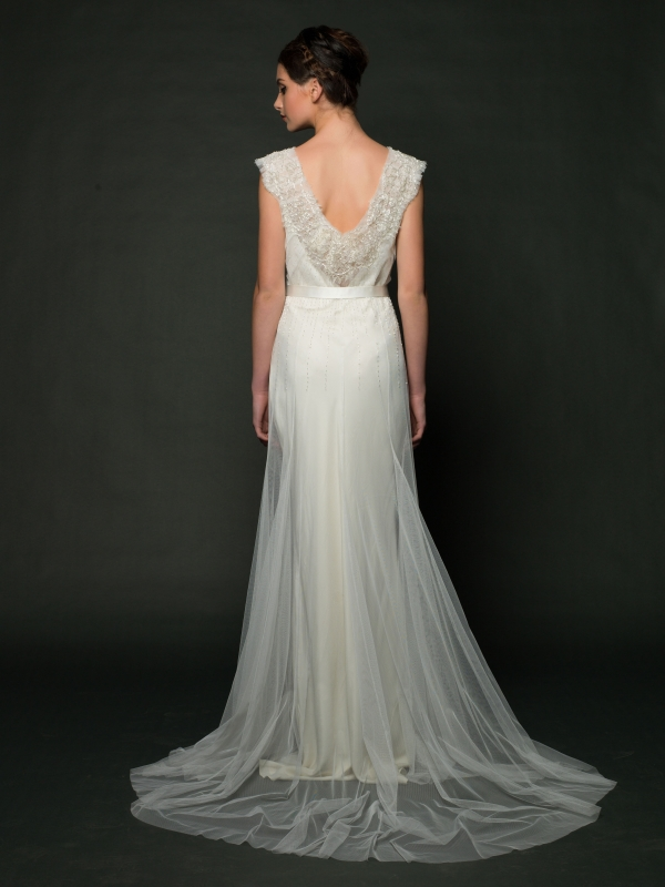 Sarah Janks - Fall 2014 Bridal Collection - Delaney Wedding Dress</p>