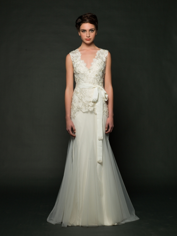 Sarah Janks - Fall 2014 Bridal Collection - Delilah Wedding Dress</p>