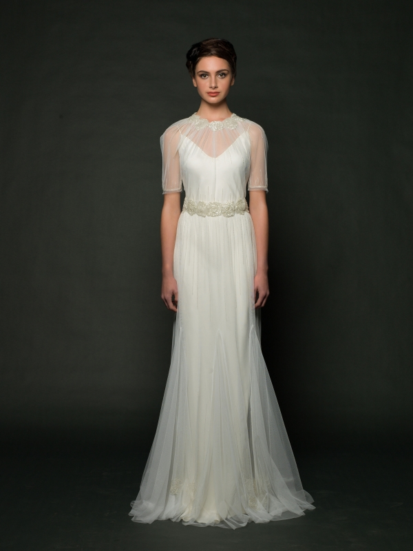 Sarah Janks - Fall 2014 Bridal Collection - Delphine Wedding Dress</p>