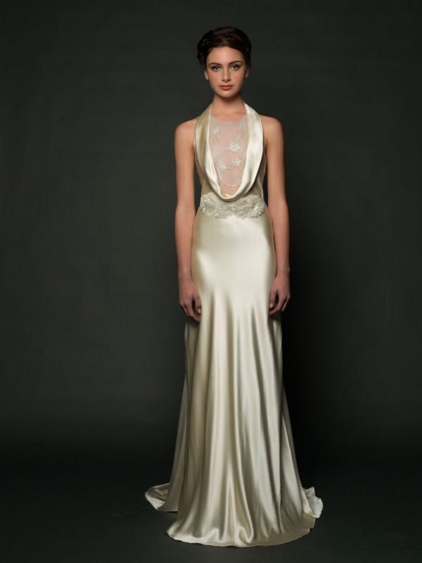 Sarah Janks - Fall 2014 Bridal Collection - Dominique Wedding Dress</p>