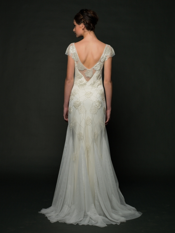 Sarah Janks - Fall 2014 Bridal Collection - Dulce Wedding Dress</p>
