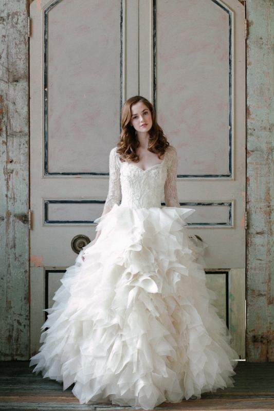 Sareh Nouri Wedding Dresses Spring 2015 Bridal Collection