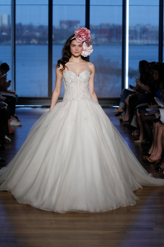 Ines Di Santo - Spring 2015 Couture Bridal Collection - <a href=