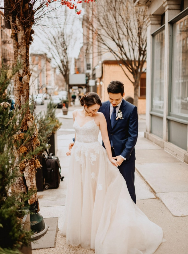 This Unbelievably Dreamy Fairmount Park Horticulture Center Wedding Gave Guests Garden Vibes Without Weather Worries