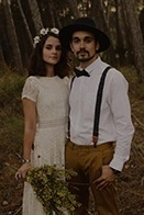Rural Spanish Elopement in the Woods