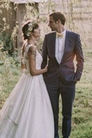 Playfully Vintage French Wedding in the Countryside