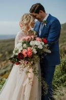 This Couple Lucked Out with the Dreamiest Light During Their Big Sur Elopement