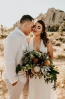This Sweet Joshua Tree Elopement is a Breath of Fresh Air