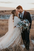 Charming and Elegant Winter Saskatchewan Wedding at K+S Community Hall