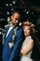 This Retro Hawaiian Wedding at Kualoa Ranch was Full of Aloha Spirit