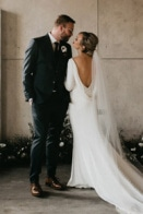 Timeless and Intimate Winter Edmonton Wedding at The Foundry Room