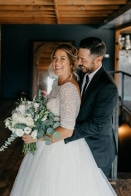 This Elegant Rustic Smoky Hollow Studios Wedding Proves the Beauty is in the Details