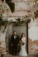 Perfectly Green Los Angeles Urban Jungle Wedding