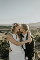 Intimate Texas Airbnb Wedding in the Chihuahuan Desert