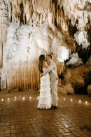 Unique and Stunning Luray Caverns Micro Wedding
