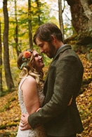 Cozy Forest Wedding at Rockmill Brewery