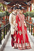 Romantic Indian Wedding at the Newport Beach Marriott