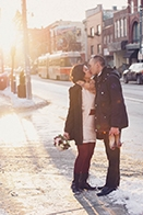 Sweet Courthouse Wedding in Toronto