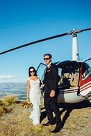 Adventurous New Zealand Helicopter Wedding
