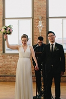 Laid-Back Urban Chicago Wedding