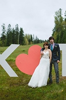 Quirky British Columbia Mountain Wedding