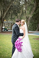 Lavish Orchid Wedding in Georgia