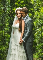 beautiful wedding in Campos do Jordao, Brazil, photo by Sam Hurd