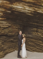 destination elopement on the Playa de las Catedrales in Spain, photo by Ed Peers