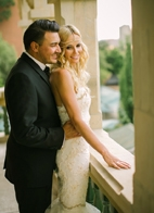gold and cream wedding in Johannesburg, South Africa, photo by Adam Alex