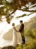 incredible private estate wedding in Big Sur, California, photo by Mott Visuals