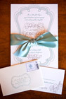 wedding invitations - photo by jay lawrence goldman