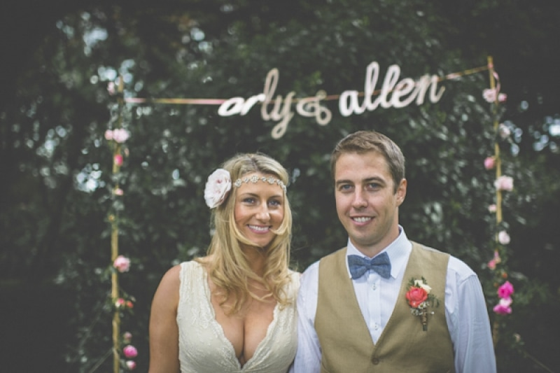 vintage garden wedding in Ireland, photo by Savo Photography