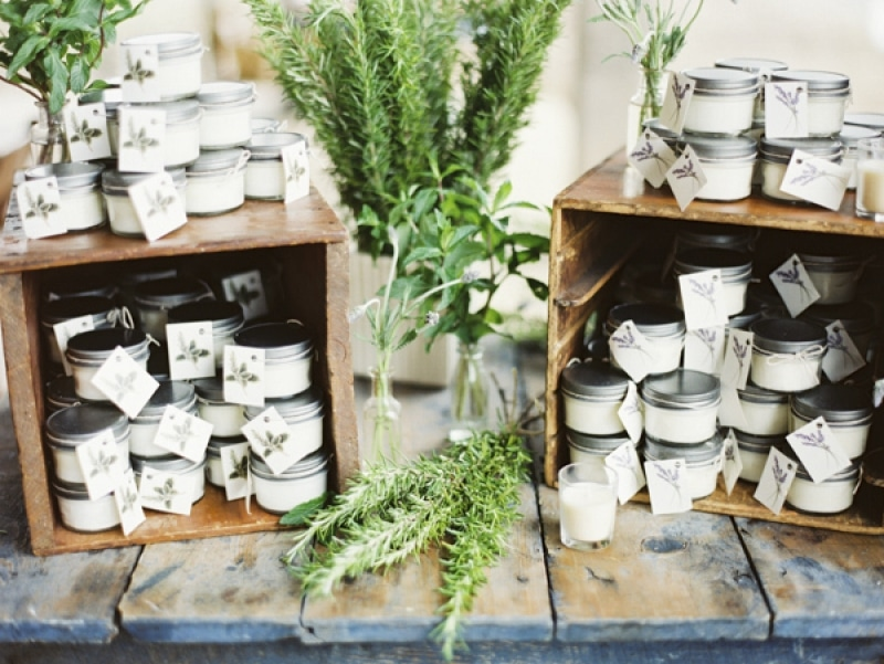 wedding favors, photo by Erich McVey Photography