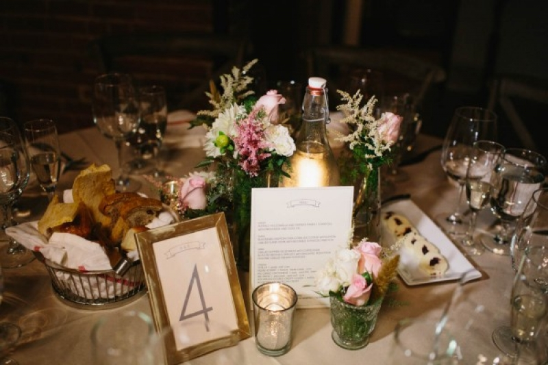 pink and gold rustic vintage table setting & pink and gold rustic vintage table setting | Wedding Inspiration ...