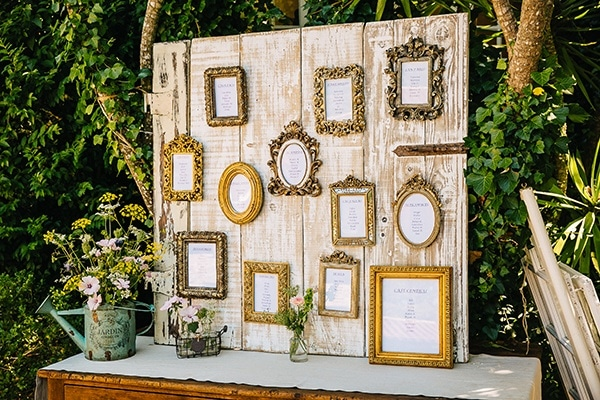 Vintage Rustic Wedding Reception Photo Frame Backdrop | Wedding ...