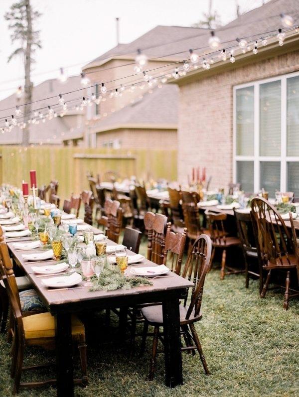 Diy Backyard Wedding Reception Wedding Inspiration Board Junebug
