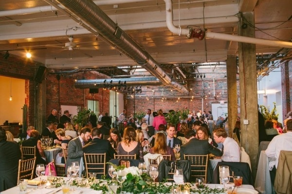 Industrial Modern Warehouse Venue Reception