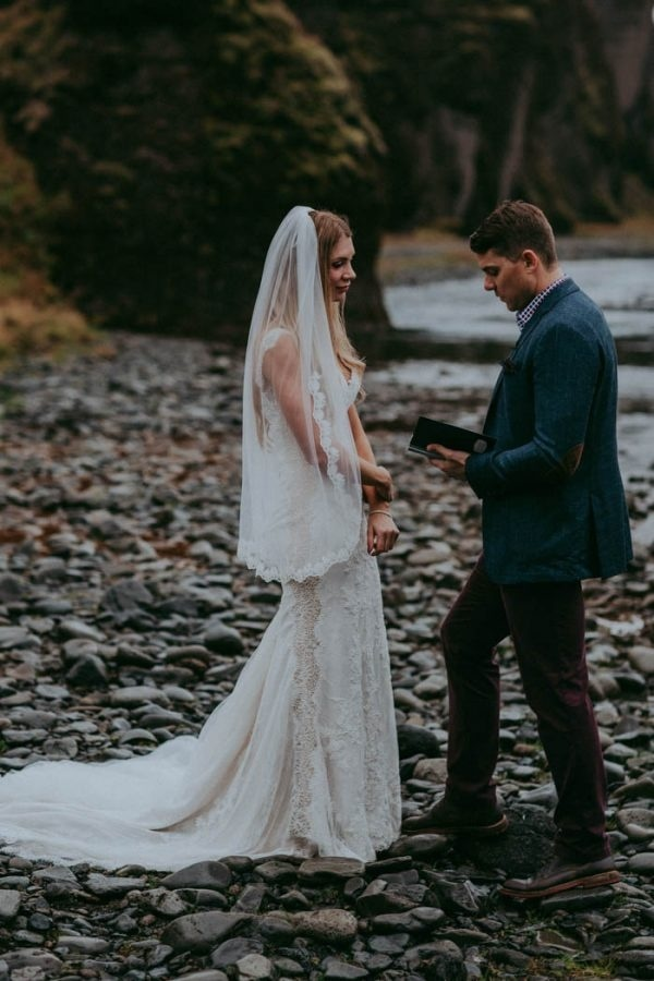 Epic and Romantic Iceland Elopement Ceremony Inspiration