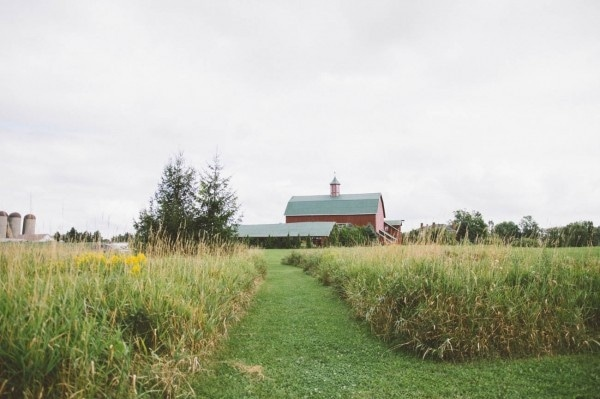 Rustic Barn Wedding Venue at Fields on West Lake