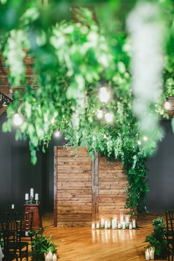 Chic Urban Forest Wedding at the Solar Arts Building