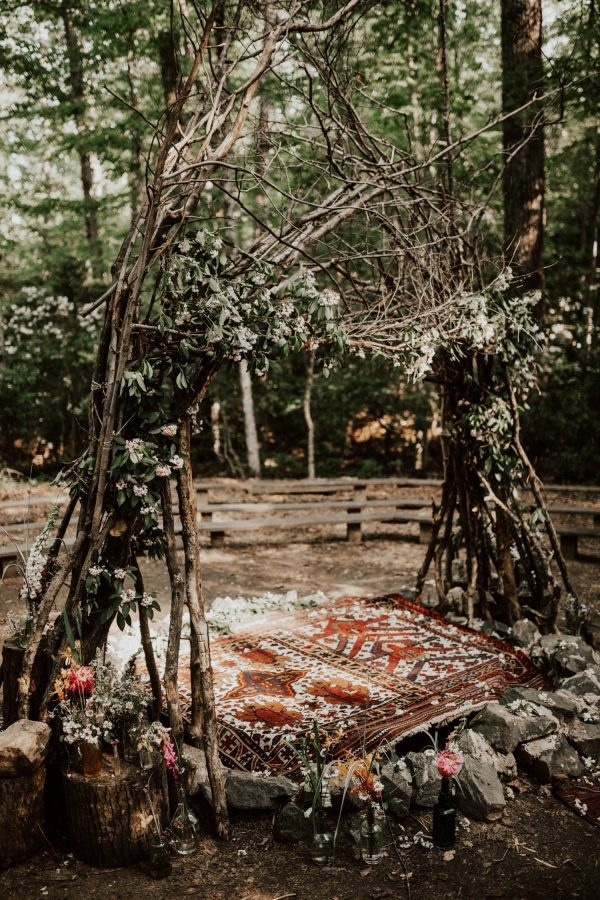 wedding ceremony in prince william forest park
