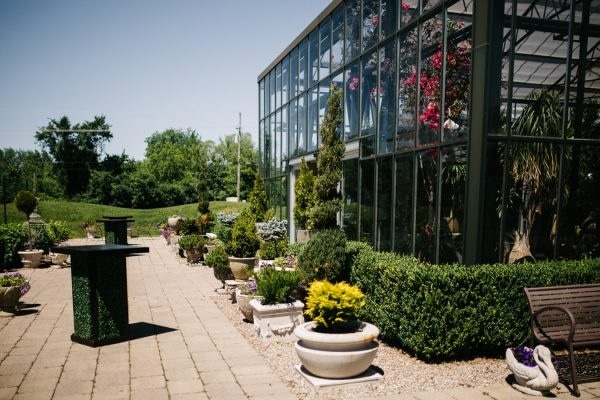 Greenhouse Wedding at the Planterra Conservatory