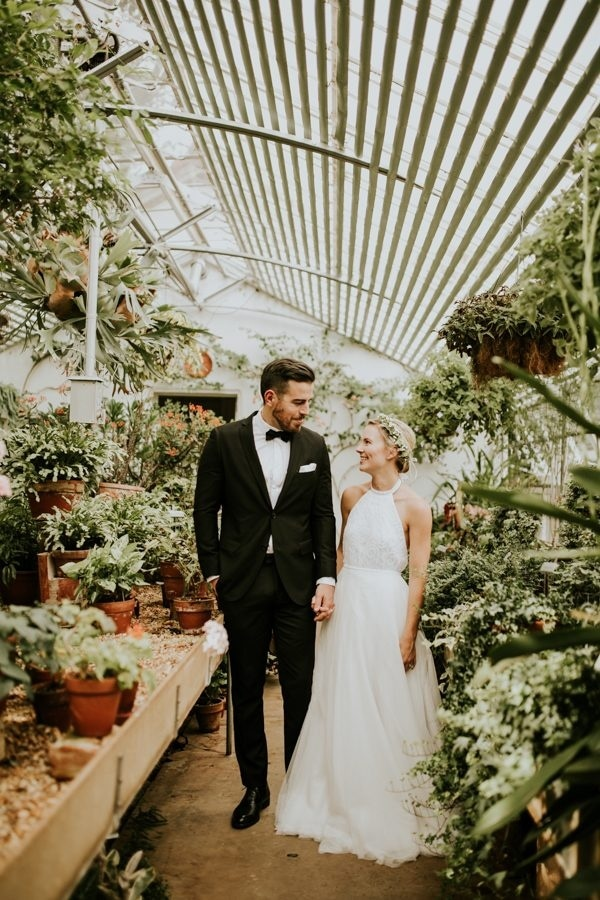Greenhouse Wedding Inspiration at Hills Dales Estate in Georgia