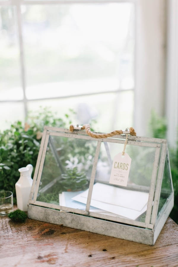 Greenhouse Card Holder