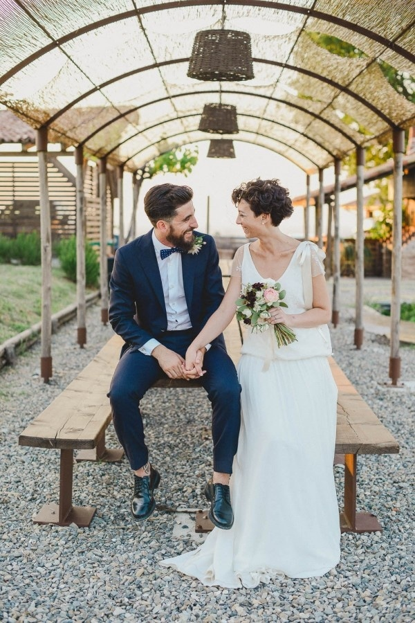 Relaxed Italian Vineyard Wedding at Prime Alture Bride and Groom Style Inspiration